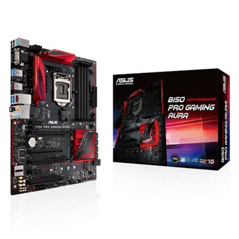 ASUS M/B - Main/Mother Board SOCKET 1151 B150 PRO GAMING AURA