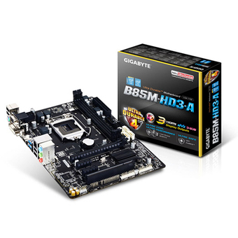 GIGABYTE M/B - Main/Mother Board SOCKET 1150 (B85M-HD3-A)