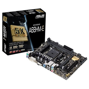 ASUS M/B - Main/Mother Board SOCKET FM2 A68HM-E