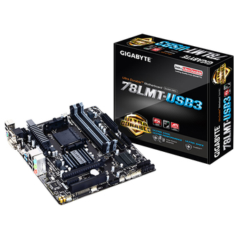 GIGABYTE M/B - MAIN/MOTHER BOARD SOCKET AM3+ 78LMT USB3 R6