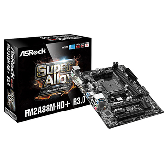ASROCK M/B - MAIN/MOTHER BOARD SOCKET FM2 FM2A88M-HD+ R3.0