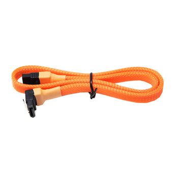 MADDNESS ACCESSORIES HI-END CABLE รุ่น SATA III UV PREMIUM (ORANGE)