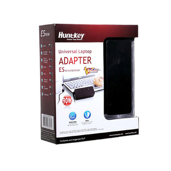 HUNTKEY ADAPTER CHARGER 90W MINI UNIVERSAL 15JUL-25OCT (BLACK)