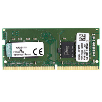 KINGSTON RAM - FOR NOTEBOOK DDR4-RAM 4/2133 (KVR21S15S8/4)