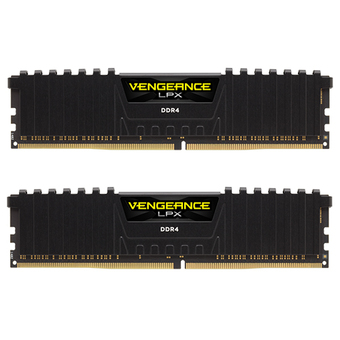 CORSAIR RAM - FOR PC DDR4-RAM 16/2400 (CMK16GX4M2A2400C14) 8X2 BLACK