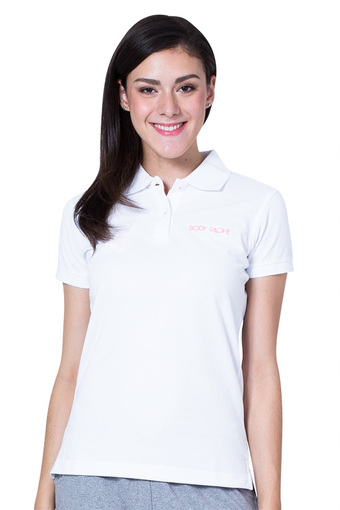 Body Glove Basic Logo Polo Women - White