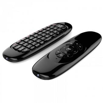 Nanotech 2.4GHz Wireless Fly Air Mouse T10 Red Laser Pen Mouse Keyboard for Android TV Box C120