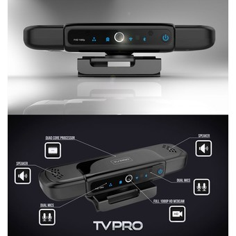 NANOTECH TVPRO HD5 AllCam Android tv box Allwinner A31s Quad core 1.2GHz 1GB/8GB 5M AF Camera Dual Mic bluetooth WIFI DLNA