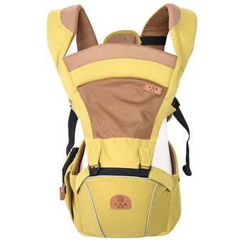 Multi-function Baby Hip Seat and Carrier(Yellow) (Intl)