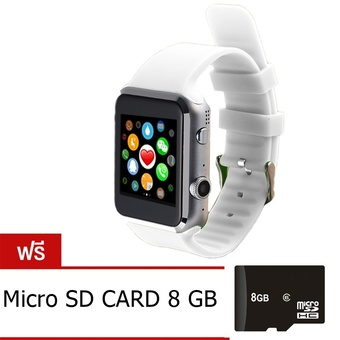 Nanotech 2015 Hot New Smart Watch IOS&Android Smart Phone with Heart Rate (สีขาว)