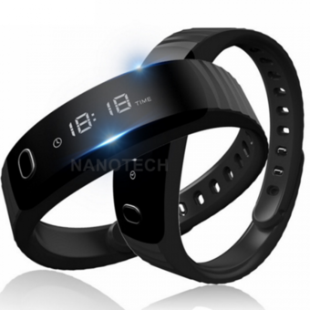 Nanotech นาฬิกา อัจฉริยะ เพื่อสุขภาพ H8 Smart Band Bluetooth Bracelet Pedometer Fitness Tracker For Android iOS xiomi pk mi band 2 - BLACK