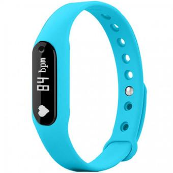 Nanotech สมาร์ทวอช Smart Wristband Health Bracelet Heart Rate Monitor Detection Sleep Fitness Tracker Pedometer - BLUE