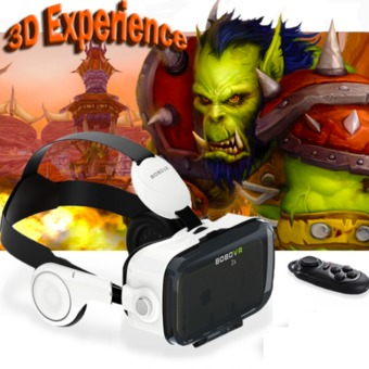 Nanotech 2016 แว่น 3D 2016 Newest Google Cardboard bobovr z4 Virtual Reality Immersive 3D