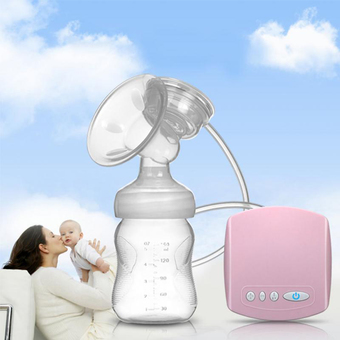 New arrival Electric USB breast pump Postpartum Breast feeding breast pumps Breast milk suckers (White)