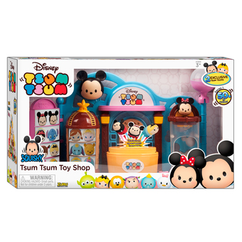 Kiddo Pacific ของเล่น Disney Tsum Tsum Toy Shop Playset