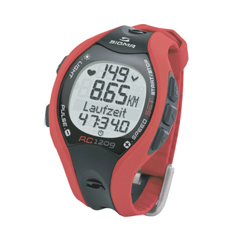 Sigma Heart Rate SIG-RC 1209 - red