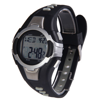 Strapless Sporty Noctilucent Heart Rate Monitor Unisex Pulse Wave Watch 012 (Intl)