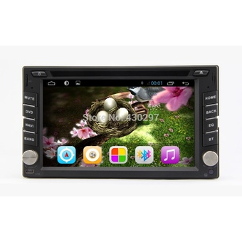 2 Din Android 4.2 Car DVD Player GPS/Wifi/Bluetooth/Radio/1GB CPU/DDR3/Capacitive Touch Screen/3G/Car PC/Stereo (Intl)