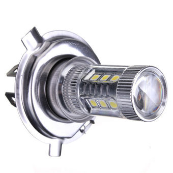 H4 80W High Power Car LED Fog DRL Daytime Running Light Bulb Auto Headlight Hi/Lo Light Source DC12V