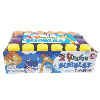 Geoffrey'S World Party Bubble (24Pcs Pack)