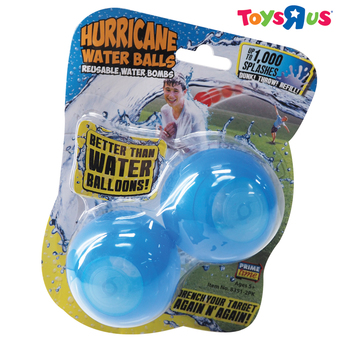 Prime Time Hurricane Reuseable Water Ball 2 Pack