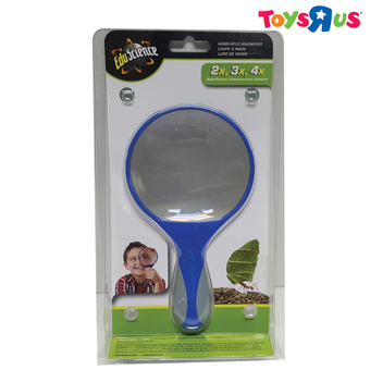 Edu Science Hand-Held Magnifier In Clamshell