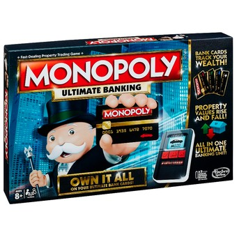 PARKER BROTHERS MONOPOLY ULTIMATE BANKING