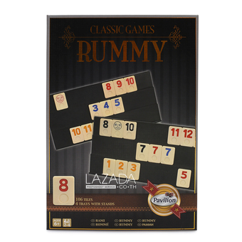 Pavilion Games: Rummy-O In Tin 890388