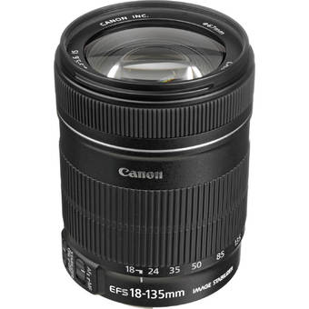 Canon Lens EF-S 18-135mm f/3.5-5.6 IS USM ประกันEC-Mall