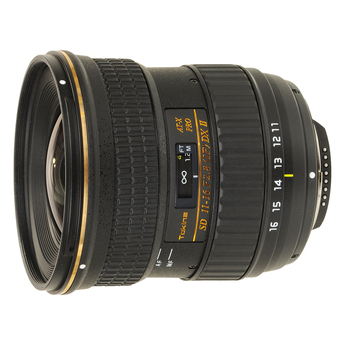 Tokina Lens AT-X 11-16mm. f/2.8 Pro Dx II For Canon (Black)