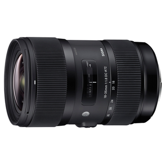 Sigma Lens 18-35mm f/1.8 DC HSM(A) For Nikon