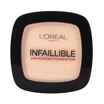 L'OREAL PARIS INFAILLIBLE 24H POWDER FOUNDATION 123 WARM VANILLA VANILLE 9 g