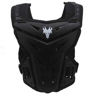 Universal Black Protective Protective Armor For Motorcycle Motorbike Dirt Bike (Intl)