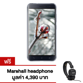 "ASUS Zenfone3 ZE552KL 5.5"" 64GB (Black) Free Marshall headphone"""