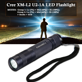 Convoy S2+ LED Flashlight LD565 (Without Battery)