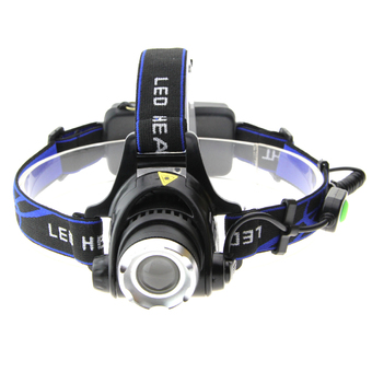 UltraFire 900lm XM-L T6 1-LED 3-Mode White Light Zooming Headlamp