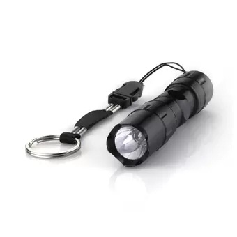 White LED Flashlight Torch Light Lamp for Camping Hiking 3W