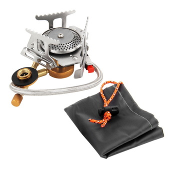 CHEER Cookout Portable Gas Stove Furnace Split Burner Cookware Outdoor Camping (Intl)