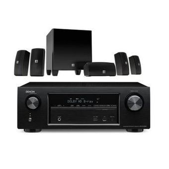 DENON AVR-X1200 + JBL CINEMA 610 (Black)