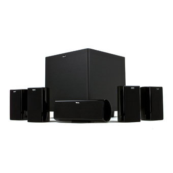 Klipsch HD Theater 600 Home Theater System (Black)