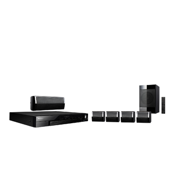 Pioneer 3D Blu-ray Home Theater รุ่น MCS-333 (ฺBlack)