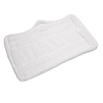 Gracefulvara Washable Steam Mop Cloth Replacement Pads (White)