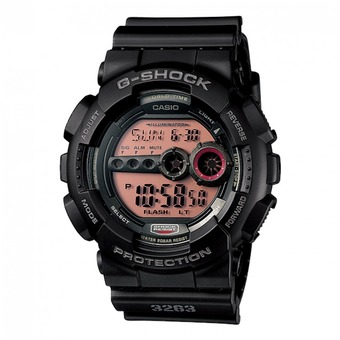 Casio G-Shock Men's Black Resin Strap Watch GD-100MS-1