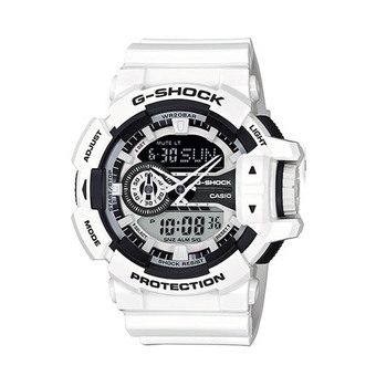 Casio G-Shock GA-400-7 White