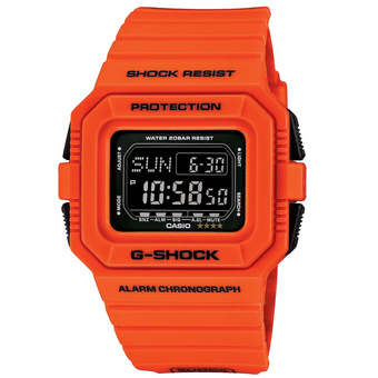 Casio G-Shock Men's Red Resin Strap Watch DW-D5500MR-4DR