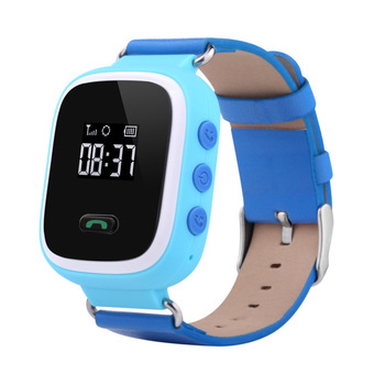 niceEshop Smartwatch Wristwatch Anti Lost Smartwatch Monitor (Blue)