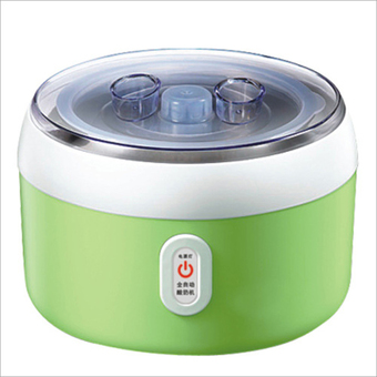 BEST HS Yogurt machine เครื่องทำโยเกิร์ต Portable Automatic Fruit Yogurt Maker Plastic liner HS-003 Green