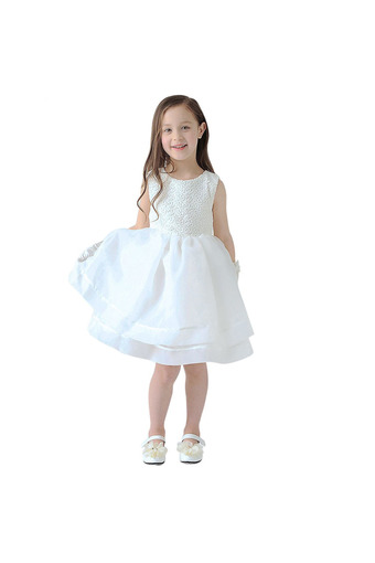 Flower Girls Princess Bow Dress (Intl)