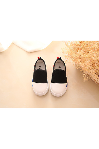 girl's cloth shoes A-3 black