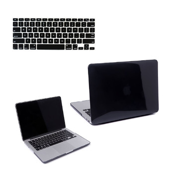 "Welink 3 in 1 Apple MacBook Pro 13"" Case / Clear Crystal Case + Anti-dust Plug + Keyboard Cover for Apple MacBook Pro 13"" [Models:A1278] (Clear Black)"""